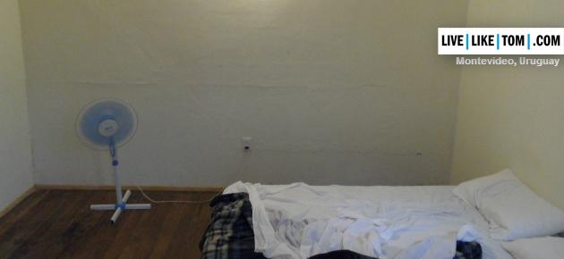 Goedkoop is ook wel eens duurkoop, zoals bij Impecable Hostel in Montevideo.