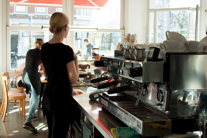 urban espresso bar - ueb west - rotterdam