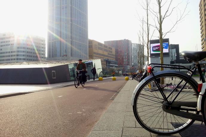 CS fietsers parkeren boete