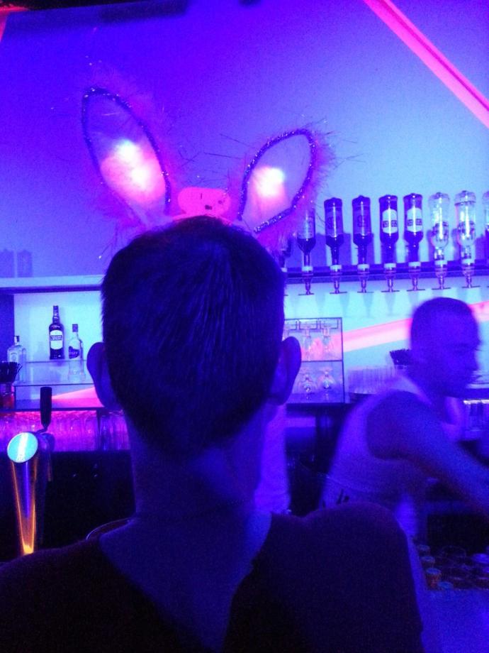 Hoppy Easter party weekend La Demence