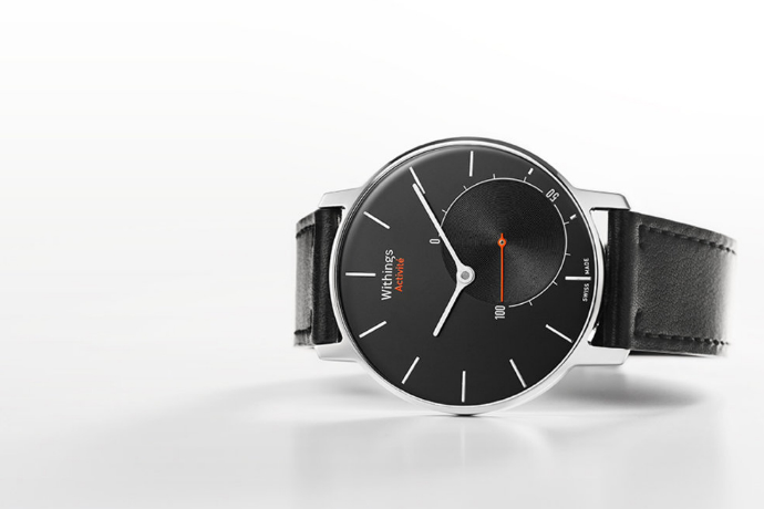 Withings Activité black watch smart gear google fit compatible