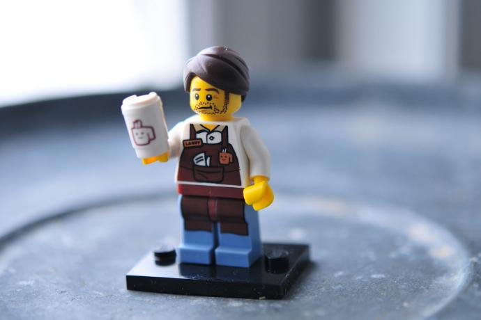 hipster barista julochka