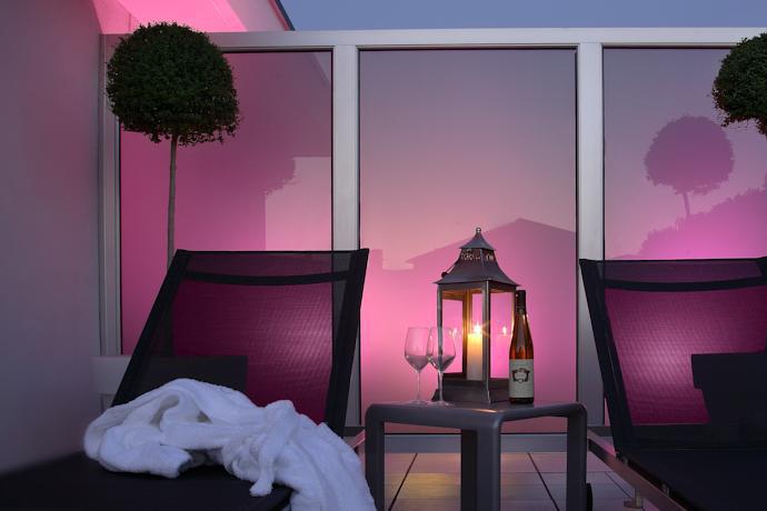 Visconti-Palace-balcony-towels-Exterior-Hotel-information