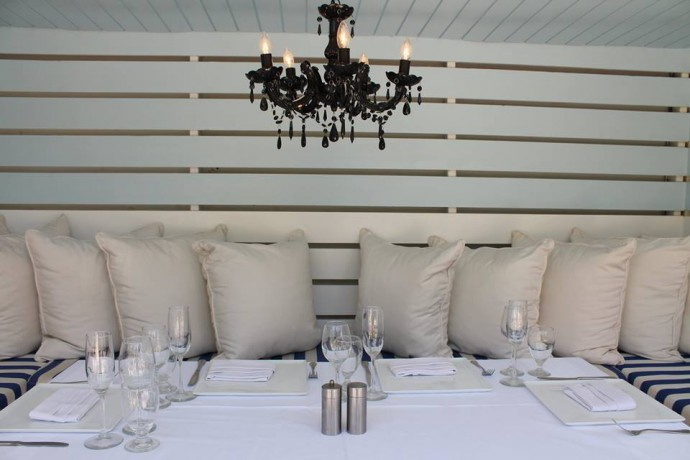 restaurant Sjalotte pool cabana