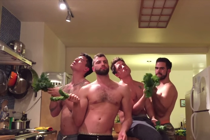 gay friends group video beyonce video thanksgiving