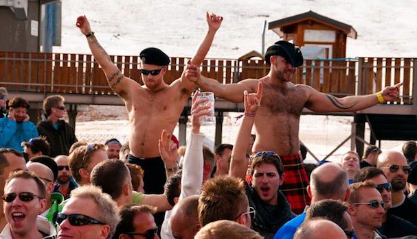 Gay ski week stowe