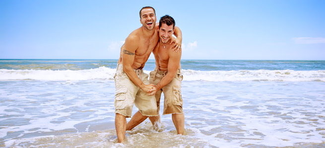 greek gay men beach