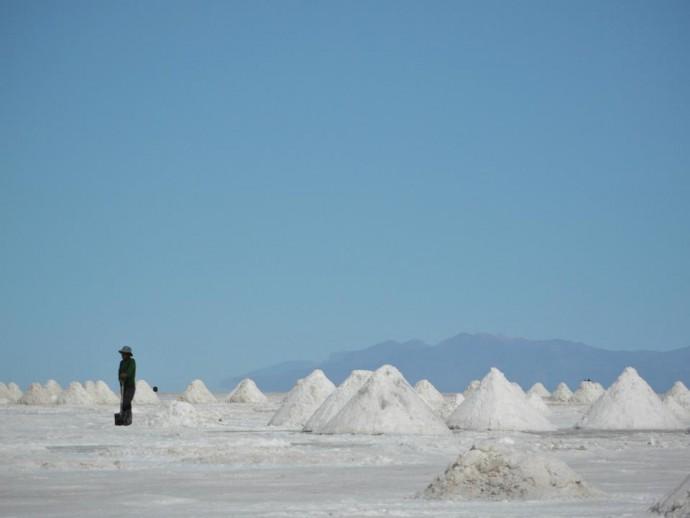 Bolivia Salar de Uyuni salt