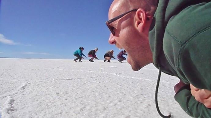 bolivia salt lakes