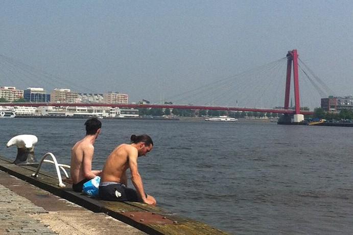 swimming rotterdam