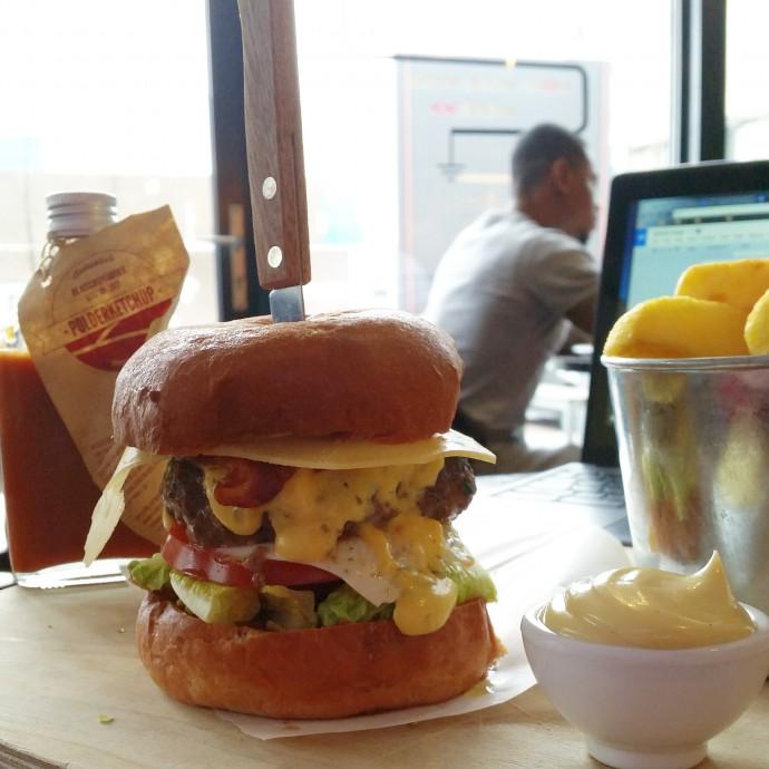 best hamburger ROtterdam 2015 stroom chef diego