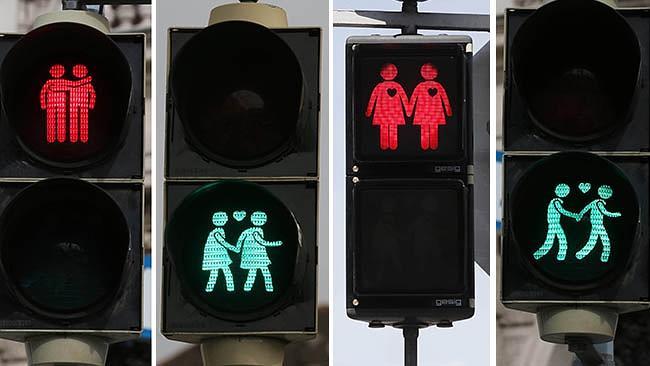 wenen eurovisie songfestival stoplicht gay