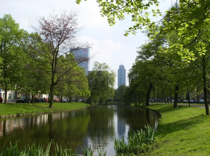 Rotterdam Spoorsingel singels Rotterdam