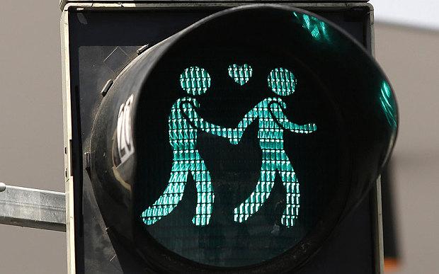homo stoplicht Wenen