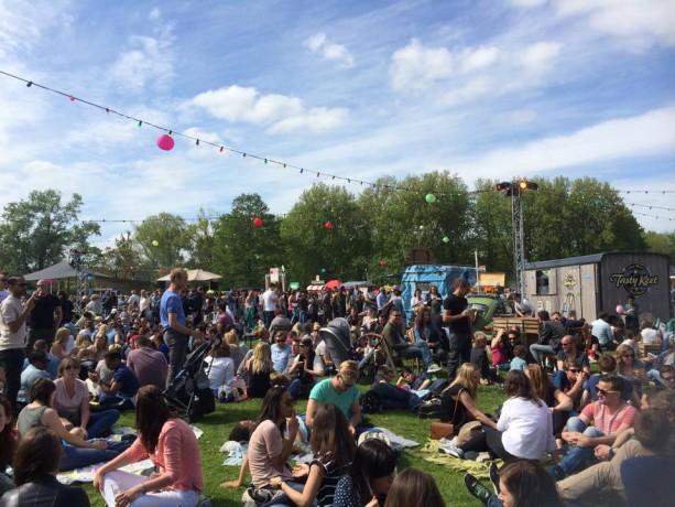 festival TREK foodtruck festival Rotterdam Vroesenpark