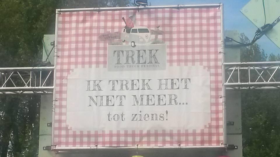 festival TREK foodtruck festival Rotterdam Vroesenpark trek het niet meer