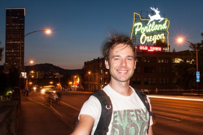 Jurriaan Teulings in Portland Oregon