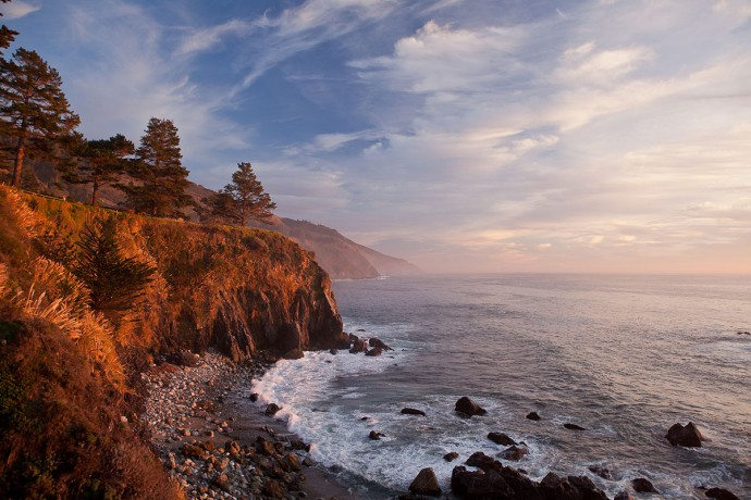 Esalen Hot Springs California Big Sur