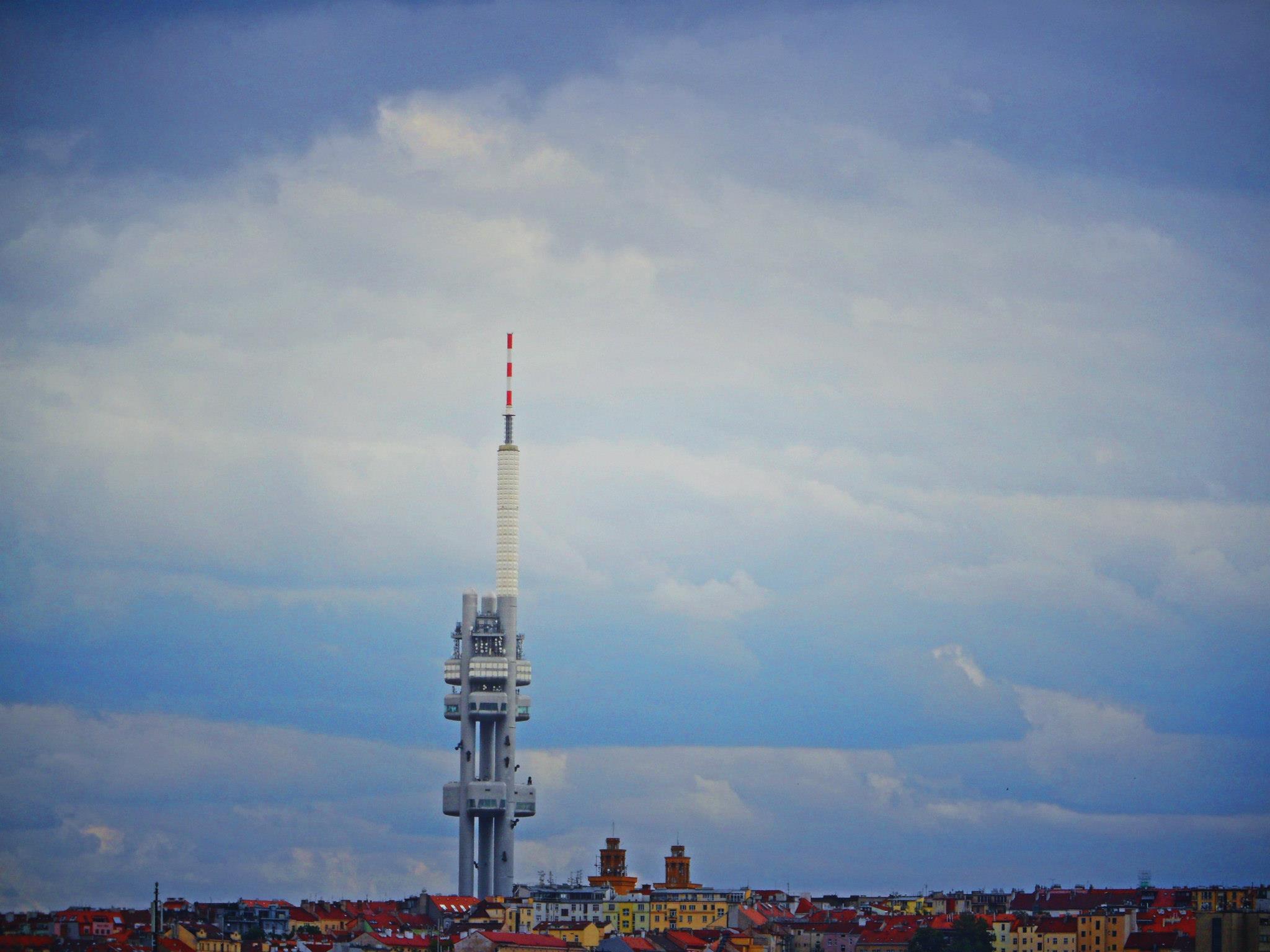 segway tour door Praag in Tsjechië