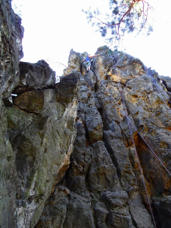 climbing bohemian paradise