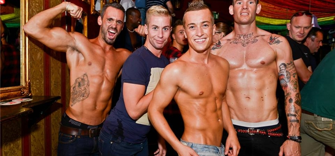 best gay bars rotterdam