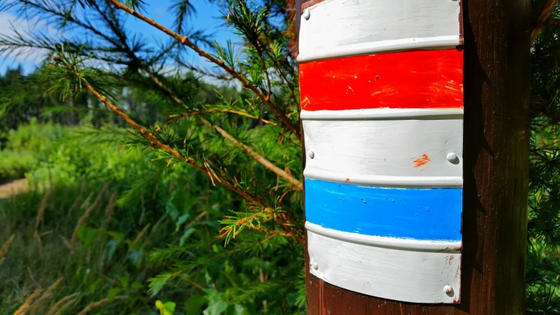 hiking signs prachov