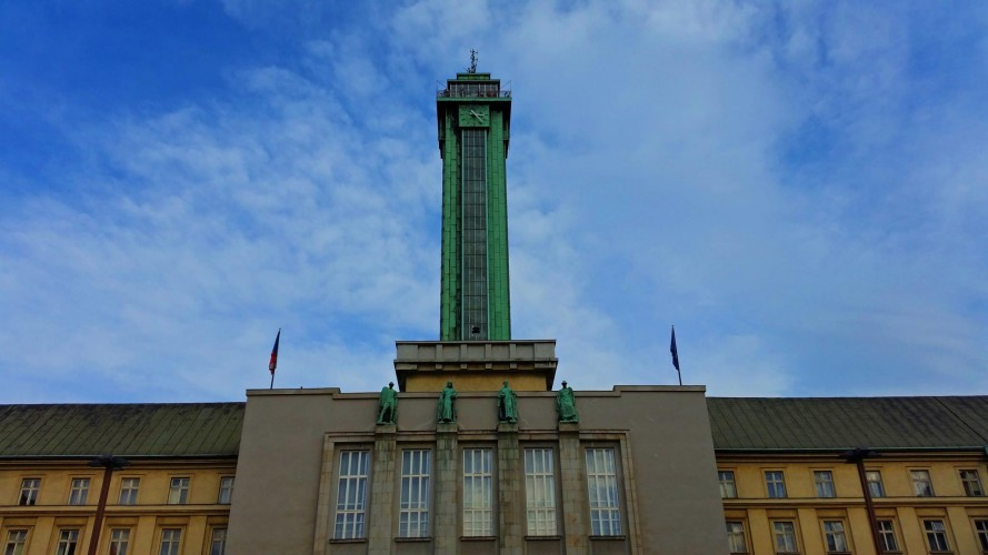 city hall ostrava tallest tower czech republic