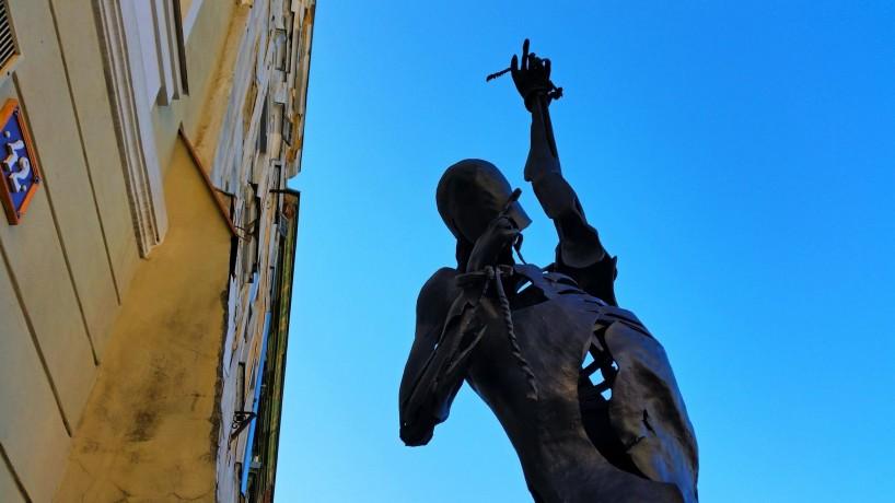 pribor statue main square