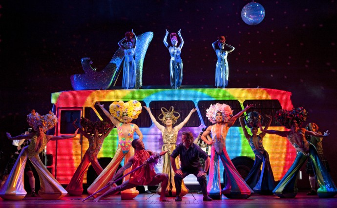 Priscilla Queen of the Desert the musical in carré amsterdam