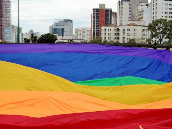 Rainbow flag pride sao paulo pride 2013 gay travel blog