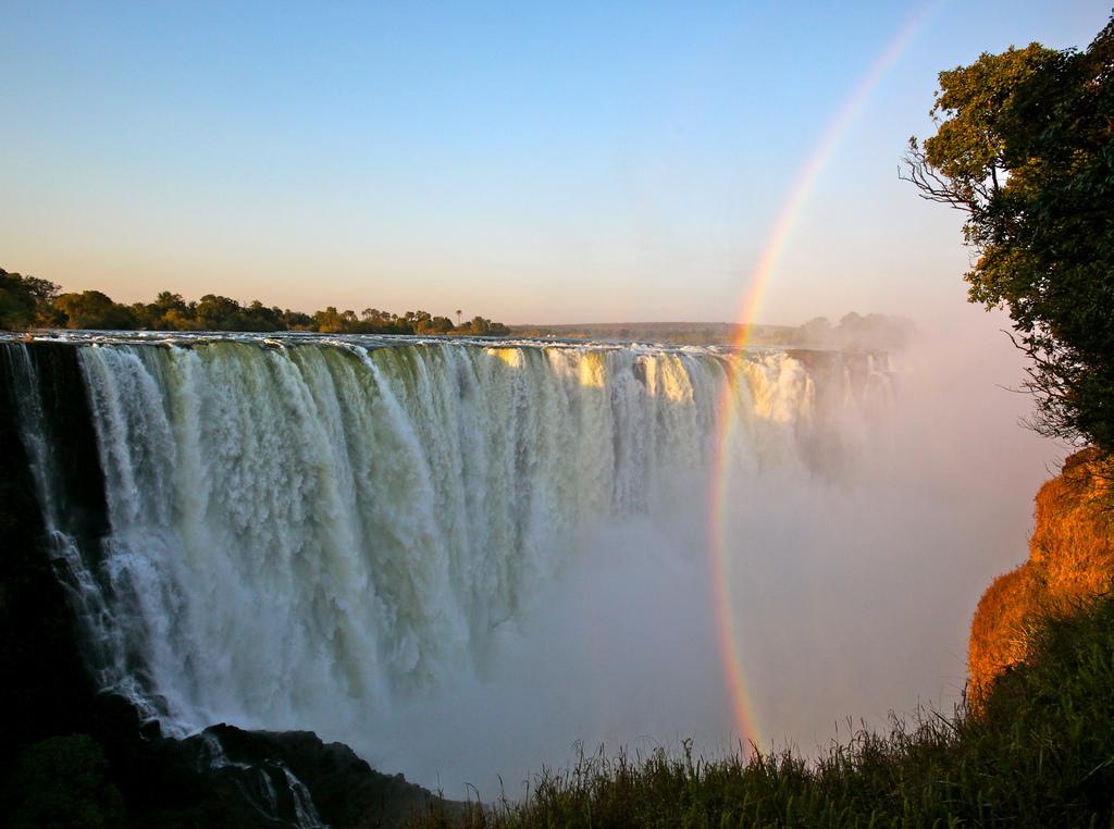 Victoria Falls zambia rainbow