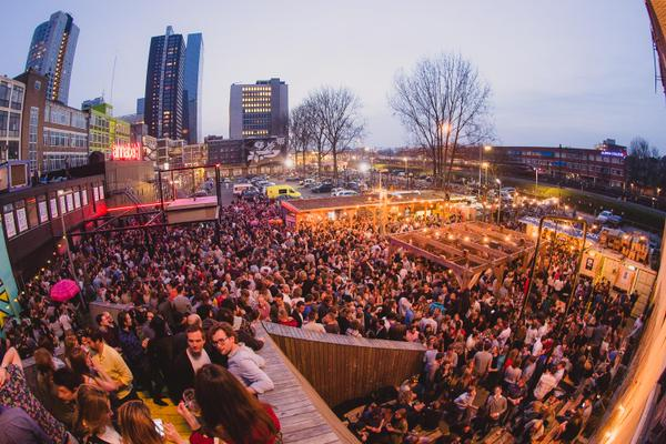 Biergarten Rotterdam gay destination