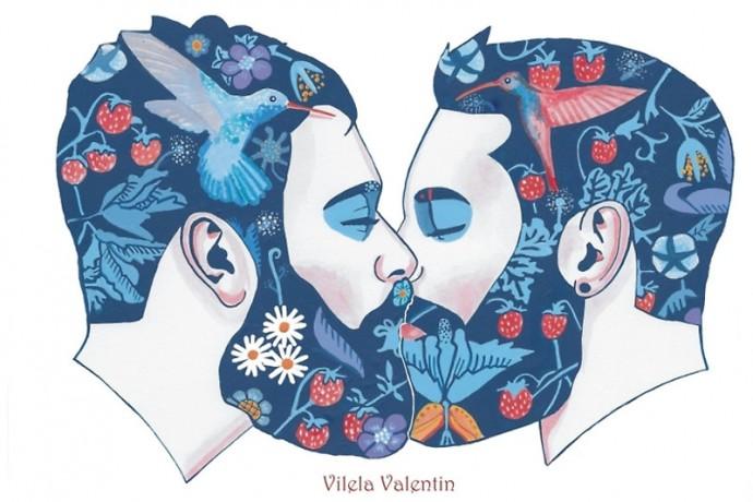 beards in love vilela valentin your daily male 2016 calendar