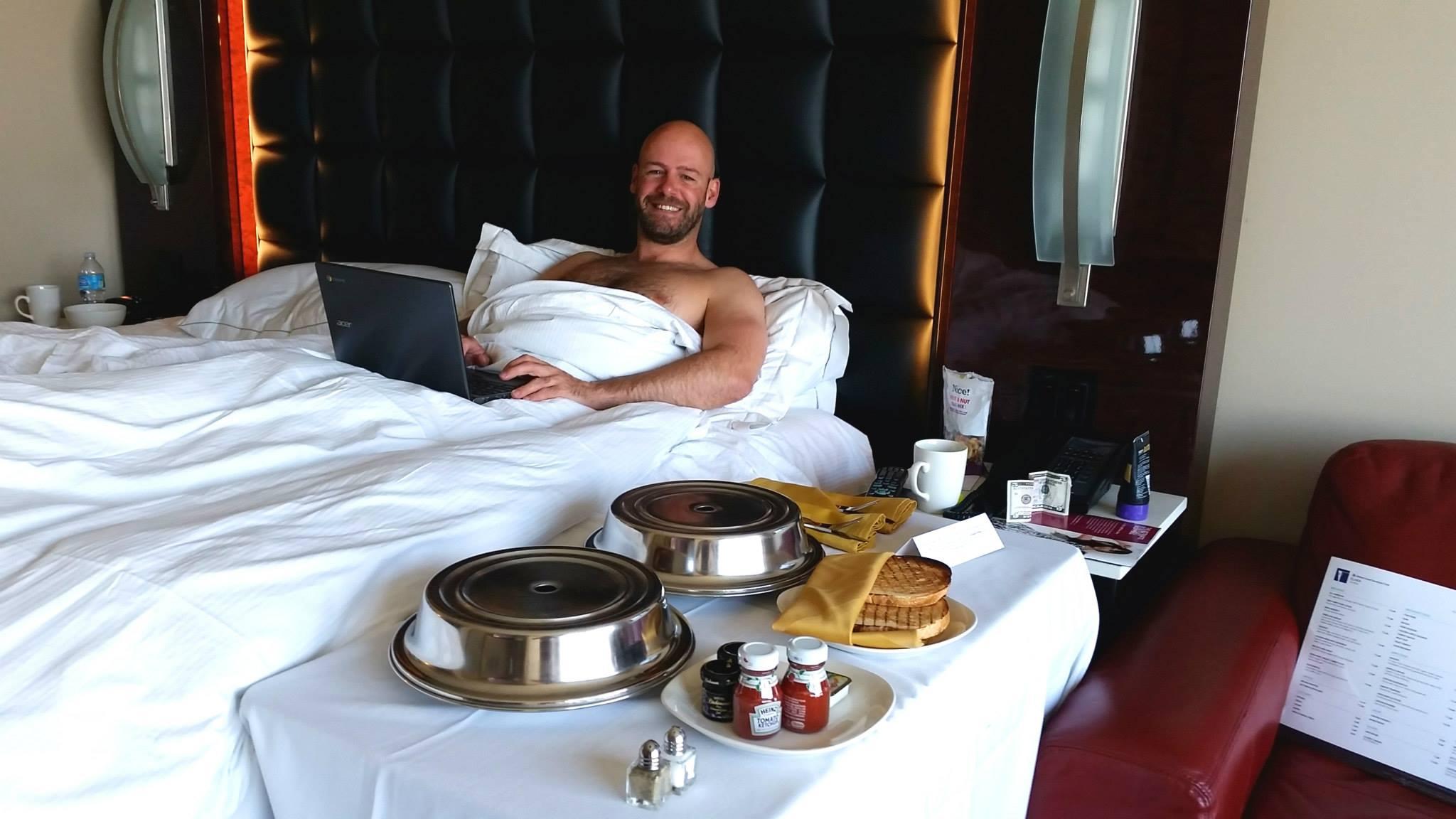 bed beach in south Gay breakfast