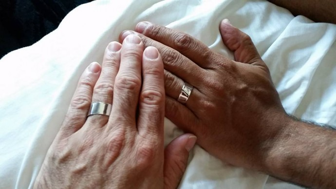 gay wedding las vegas rings