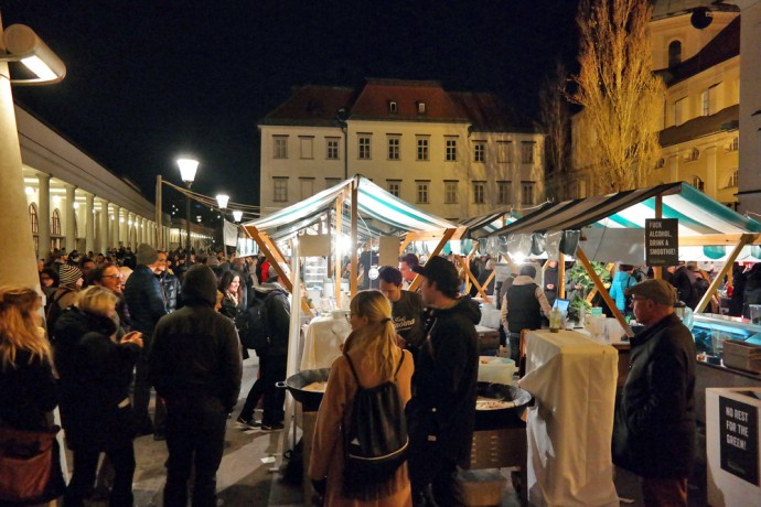Odprta kuhna open kitchen ljubljana slovenia
