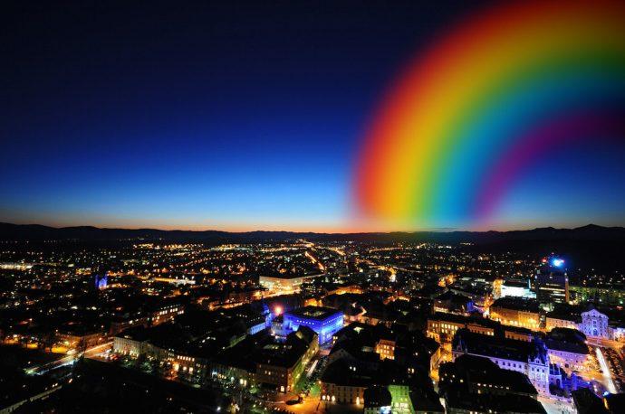 skyline ljubljana slovenia gaycation weekend
