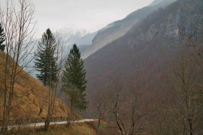 early spring in soca valley