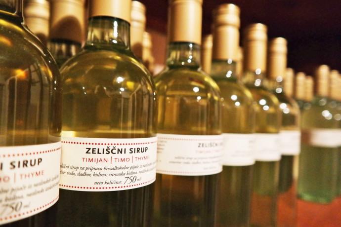 thyme syrup slovenia