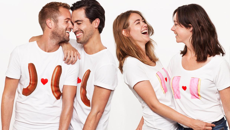 gay t-shirt europride hema rookworst