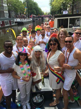 Amsterdam Pride 2016 boot pieter en job