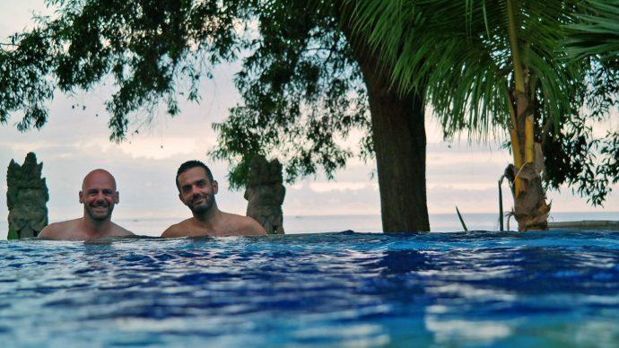 gay hotel Amed Bali snorkeling destination