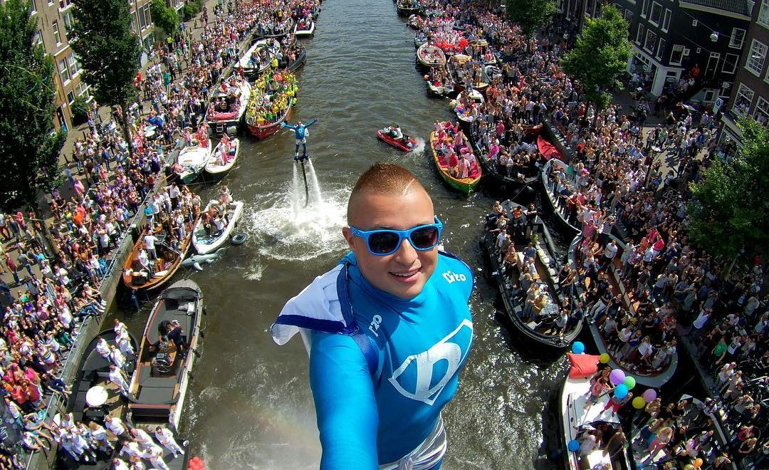 flyboarder gay pride world record skypics