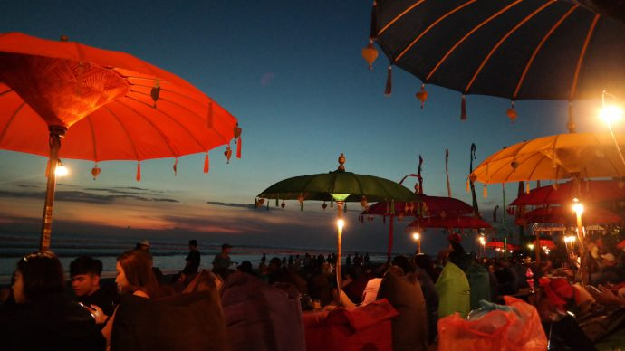 seminyak gay sunset beach