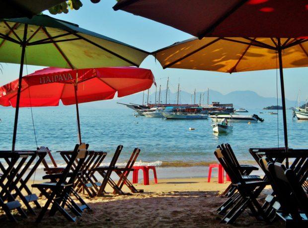empty trerace relax ilha grande brazil