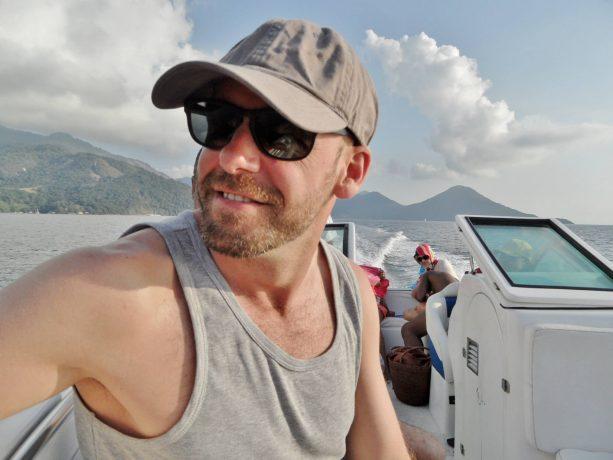 boat ride in brazil
