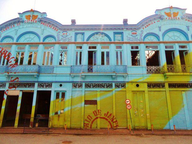 building in lapa rio de janeiro dance school