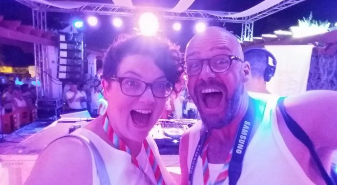 lgbt influences bloggers liveliketom wandering wives at benidorm pride for visit benidorm