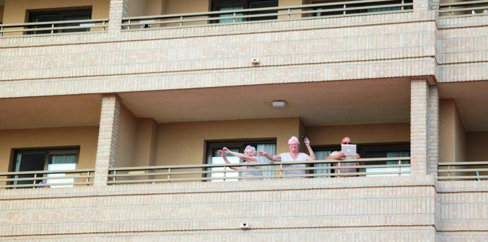 seniors supporting lgbt community in Benidorm