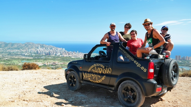 jeep safari marco polo expediciones Benidorm Spain